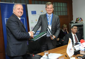 Signing EDU-Syria II Contract with the Delegation of the European Union