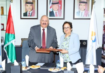 GJU Signs an Agreement with Zarqa University for a Scholarship Program